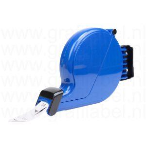 Volgnummer dispenser blauw