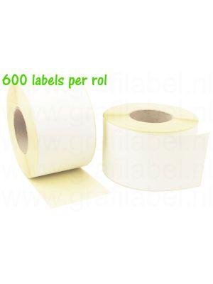 Verzendetiket / Pakketlabel 102x210mm - 600 labels per rol